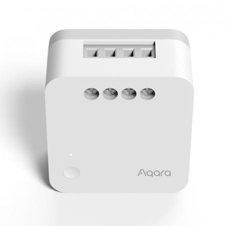 Releu Aqara T1 smart fara nul, versiune europeana, monitorizare consum, ZigBee 3.0, compatibil Google Home, HomeKit2