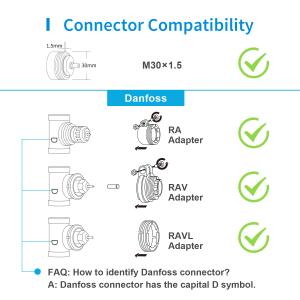 Robinet suplimentar inteligent cu termostat pentru kitul Meross, acces din aplicatie, compatibil Alexa, Google Home, IFTTT, EU4