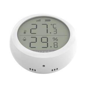 Senzor Blitzwolf masurare umiditate, temperatura in timp real cu afisaj digital, ZigBee, display LCD, ecosistem Smart Life2