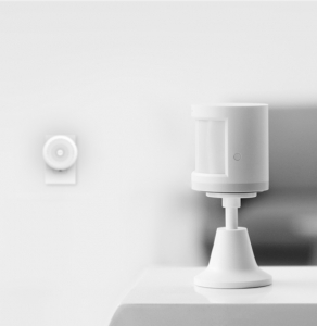 Senzor de miscare smart home Aqara, protocol ZigBee, compatibil Apple HomeKit & Mi Home App, suport inclus