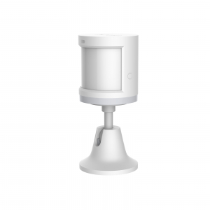Senzor de miscare smart Aqara, unghi detectie 170⁰, suport inclus, rotatie 360, ZigBee, versiune europeana