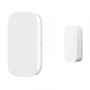Senzor magnetic Aqara, pentru usi sau ferestre, ZigBee, versiune europeana, compatibil Homekit, MI Home EU2