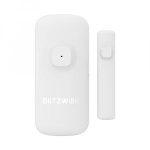 Senzor magnetic Blitzwolf, ZigBee, pentru usa/fereastra, ecosistem Smart Life, 500mAh, compatibil Google & Alexa0