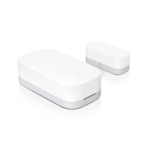 Senzor magnetic smart Aqara, montare pe usa sau ferestre, compatibil Apple HomeKit sau Mi Home App