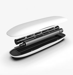 Set 65 piese surubelnita electrica Xiaomi Wowstick 1F+, 56 bituri, pad de lucru, 500mAh, suport magnetic, LED, dark-gray