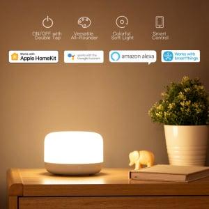 Lampa Yeelight Bedside D2, touch control, Wi-Fi, W-RGB, 5W, compatibila Google, Alexa, Homekit, SmartThings1