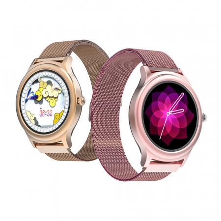 Smartwatch BlitzWolf BW-AH1, bluetooth 5.0, SPO2, waterproof IP67, 160mAh, tracking 24 moduri sport, notificari, silver3