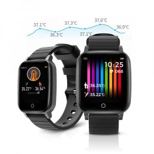Smartwatch BlitzWolf BW-HL1T masurare temperatura corporala, ritm cardiac, bluetooth 5.0, notificari, activitati sportive0