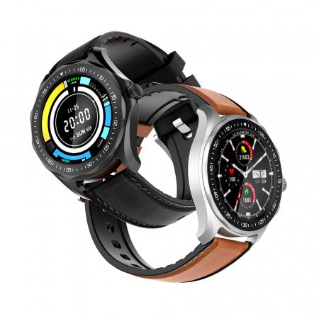 "Smartwatch BlitzWolf BW-HL3 IP68, 1.3"", bluetooth 5.0, moduri sport, monitorizare ritm cardiac, nivel oxigen din sange, Negru [3]"