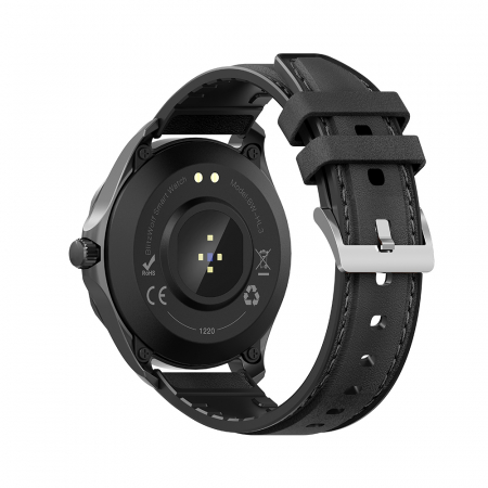 "Smartwatch BlitzWolf BW-HL3 IP68, 1.3"", bluetooth 5.0, moduri sport, monitorizare ritm cardiac, nivel oxigen din sange, Negru [4]"