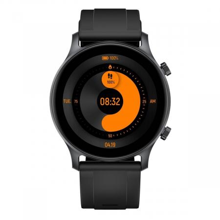 Smartwatch Haylou RS3 2021, senzor SPO2, display Amoled HD, GPS Sony integrat, waterproof 5ATM, monitorizare 14 sporturi, notificari, negru [3]