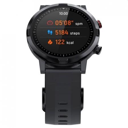 "Smartwatch Haylou RT LS05S, senzor PPG, bluetooth 5.0, tracking 12 sporturi, notificari, display TFT 1.28"", IP68,  15 zile autonomie [1]"