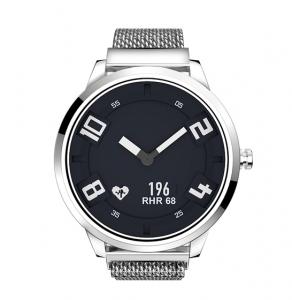 Ceas Lenovo Watch X hibrid, Oled, bluetooth 5.0, 45 zile autonomie, HR, pedometru, waterproof, Silver