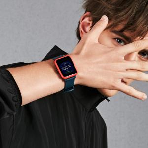 Smartwatch Amazfit BIP S 2020, waterproof, 40 zile autonomie, GPS Sony, Biotracker PPG, bluetooth 5.0, negru3