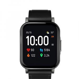 Smartwatch Xiaomi Haylou LS02 resigilat, versiune EU, bluetooth 5.0, 12 moduri sport, 20 zile autonomie, IP68, masurare ritm cardiac1