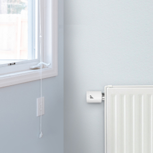 Starter kit Meross, robinet smart pentru calorifer cu termostat, hub inclus, compatibil  Alexa, Google Home, IFTTT, EU6