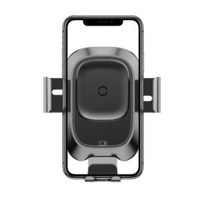 Suport telefoane si incarcator auto wireless Baseus cu ventuza, QI, rotatie 360°, 10W, compatibil Android & Apple1