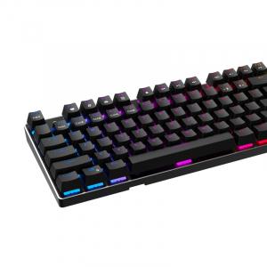 Tastatura mecanica pentru gaming Havit Rainbow KB432L cu stand detasabil, lumina RGB, programabila4