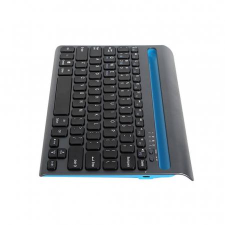 Tastatura wireless Delux K2201V dual mode Bluetooth/Wi-Fi, 180mAh, Negru [2]