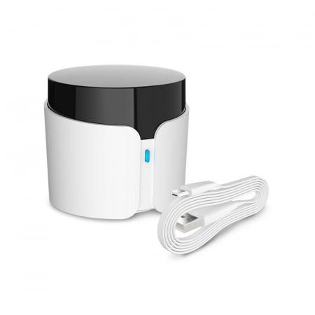 Telecomanda smart universala BroadLink RM4C PRO, 360°, Wi-Fi, acces de la distanta, IR 38KHz, RF 433 MHz, compatibila Google & Alexa3