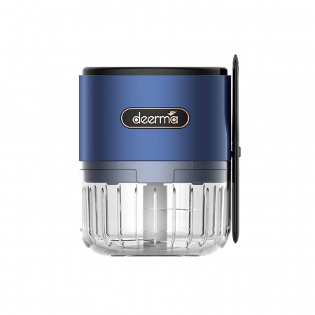 Mini tocator electric alimente Deerma JS100, 150ml, 1500mAh, 28000 rpm, 40W, otel inoxidabil1
