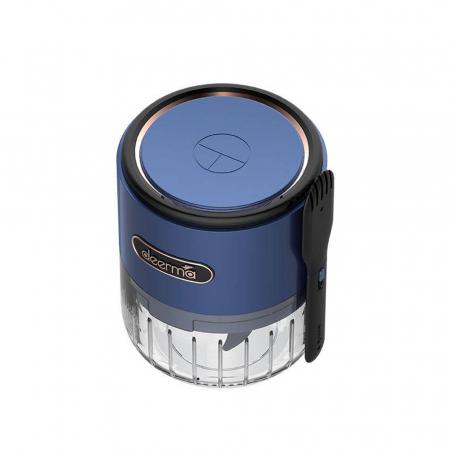 Mini tocator electric alimente Deerma JS100, 150ml, 1500mAh, 28000 rpm, 40W, otel inoxidabil2