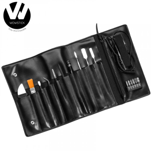 Trusa cu 18 accesorii Wowstick 1+ pentru service telefoane, electronice, husa inclusa0