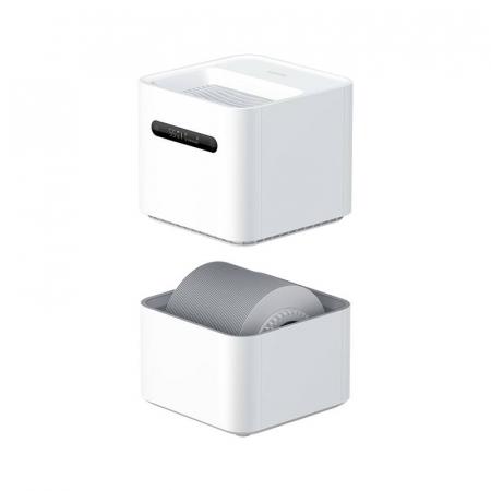 Umidificator de aer Xiaomi Smartmi generatia a 2-a, 260 ml/h, rezervor 4 L, Wi-Fi, LED, compatibil Mi Home EU2