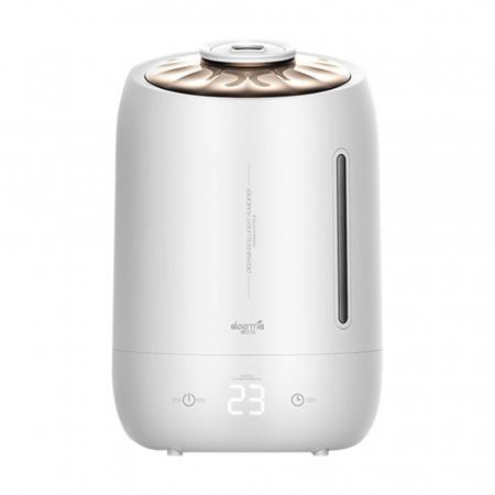 Umidificator Deerma Ultrasonic F600, 5L, 25W, filtru de carbon, display digital cu touch, Alb, resigilat [0]