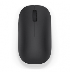 Mouse wireless Xiaomi, 1200 dpi, 12 luni autonomie, indicator LED, negru0