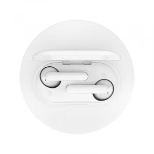 Casti wireless premium Xiaomi QCY T3 TWS, bluetooth 5.0, HiFi, DSP, IPX5, touch control, control volum, albe6