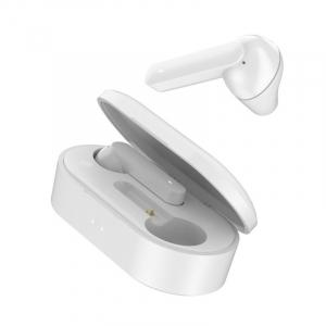 Casti wireless premium Xiaomi QCY T3 TWS, bluetooth 5.0, HiFi, DSP, IPX5, touch control, control volum, albe2
