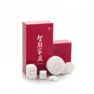 Kit Smart Home Xiaomi Mijia Basic 5 in 1 cu protocol Zigbee pentru casa inteligenta, resigilat2