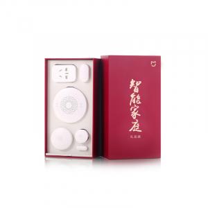 Kit Smart Home Xiaomi Mijia Basic 5 in 1 cu protocol Zigbee pentru casa inteligenta, resigilat0
