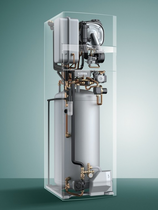 ecoCOMPACT VSC 266/4-5 26kW + BOILER 196,5 L centrala termica in condensatie VAILLANT 3