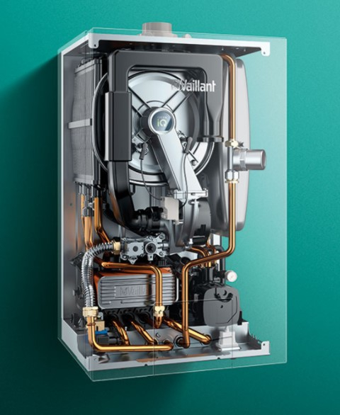 Centrala termica in condensatie, 37.7 kw incalzire, Vaillant ecoTEC plus VU 35CS/1-5 [1]