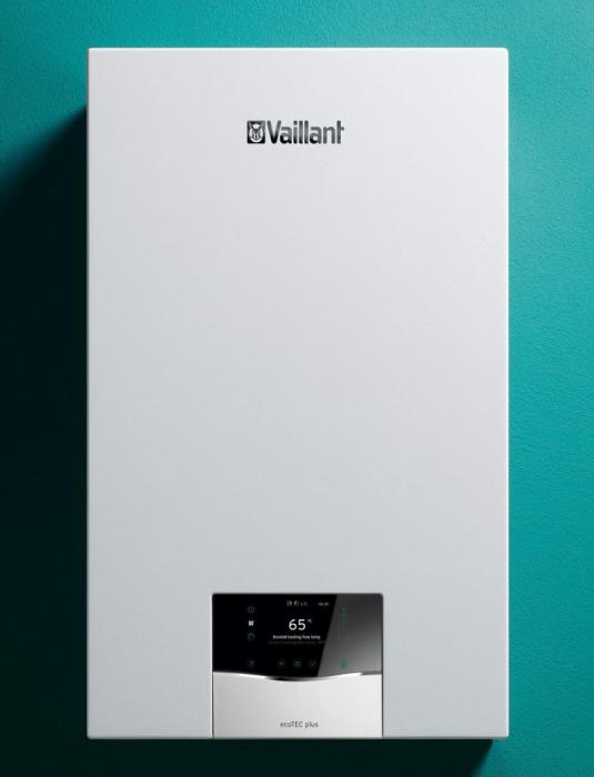 Centrala termica in condensatie, 27 kw, cu boiler incorporat 20 l, Vaillant ecoTEC plus VUI 32CS/1-5 [0]