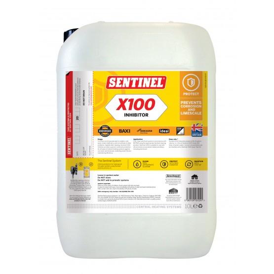 Sentinel X100 Inhibitor pentru protectie in timp impotriva coroziunii si a depunerilor de calcar 10L 0