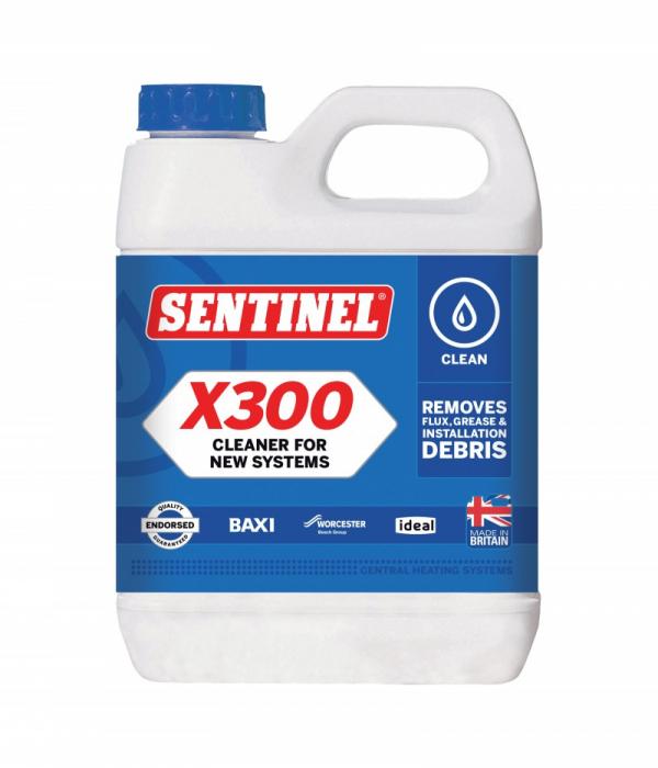 Sentinel X300 Solutie de curatare a murdariei din instalatii de ulei, resturi din imbinari, pilitura de ulei 1L 0