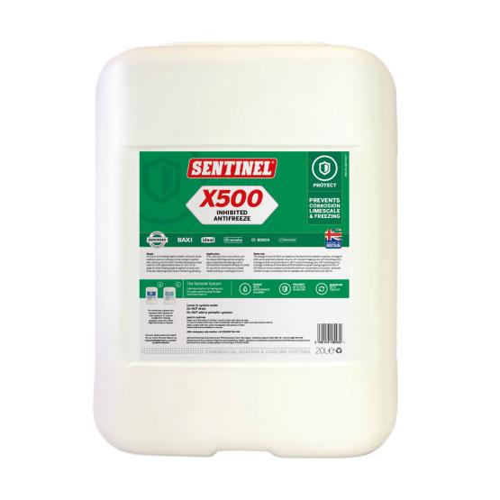 Sentinel X500 Antigel inhibitor pentru sisteme de incalzire centrala 20L 0