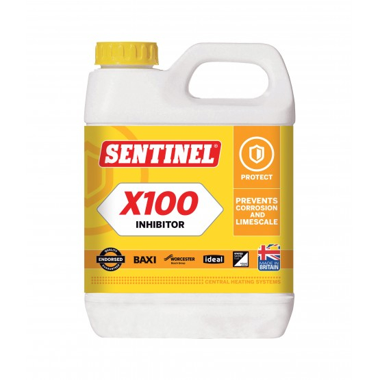 Sentinel X100 Inhibitor pentru protectie in timp impotriva coroziunii si a depunerilor de calcar 0