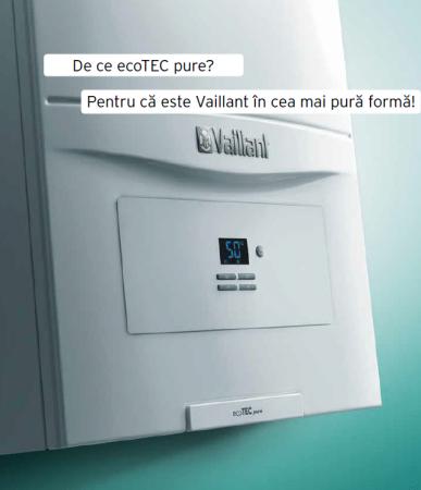 VAILLANT ecoTEC pure VUW 236/7-2, 20,2 kW centrala termica in condensatie - Incalzire + A.C.M.2