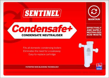 Neutralizator de condens CONDENSAFE+ pentru centrale murale pana la 1200L0