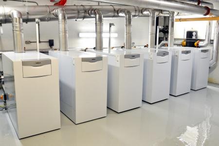 Cazan de pardoseala in condensare ecoCRAFT exclusiv VKK 1606/3-E-HL, 160 kW, Incalzire2