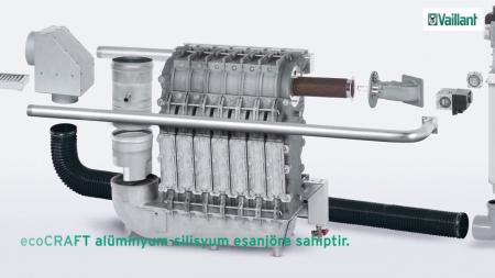 Cazan de pardoseala in condensare ecoCRAFT exclusiv VKK 1606/3-E-HL, 160 kW, Incalzire4