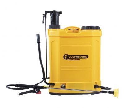 Pompa de stropit GOSPODARUL PROFESIONIST 2 in 1 - capacitate 16L, baterie si manual [0]