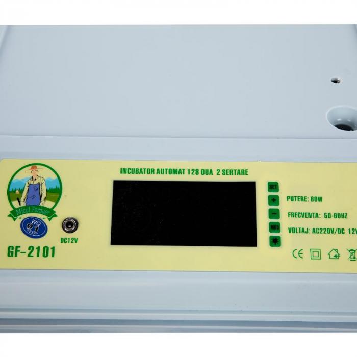 Incubator automat 128 oua 2 sertare [2]