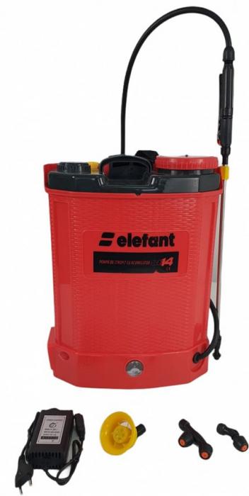 Pompa de stropit cu acumulator ELEFANT SE14L [0]