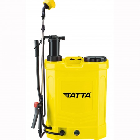 Pompa de stropit 18L TATTA Cu Acumulator si Actionare Manuala 2 in 1 [0]