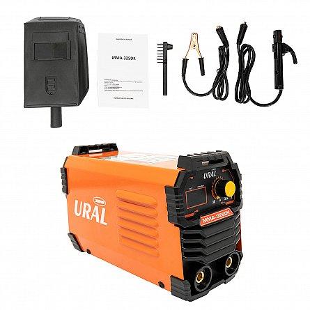 Aparat de sudura ( Invertor ) URAL MMA 325DK, 320Ah, Accesorii Incluse,Cutie de Transport, Cabluri 3M [0]